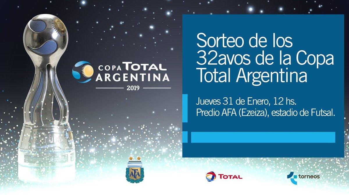 Se sortea la Copa Argentina