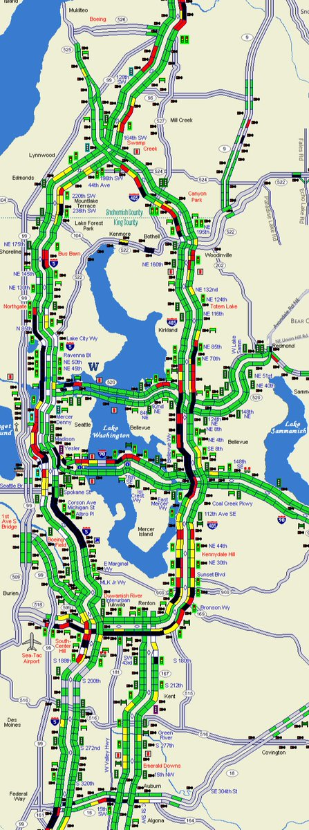 King 5 Traffic Map.Wsdot Traffic On Twitter Oof The Commute Is Taking A Hit Tonight