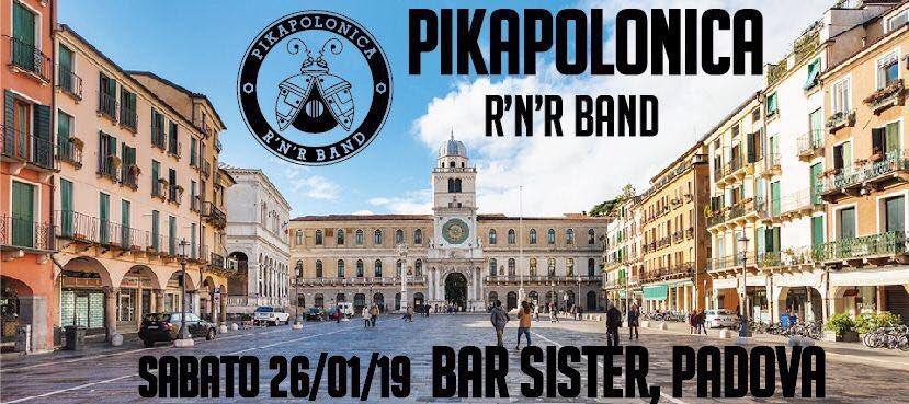 Tonight #saturday 26.1.2019 in #Padova #Veneto #Italia #live #concert of @B_PIKAPOLONICA  @SebastjanERock #vocal #guitar #gabrielefanale #sax #spettacolo #spettacolare pic.twitter.com/B25fczgJ4D