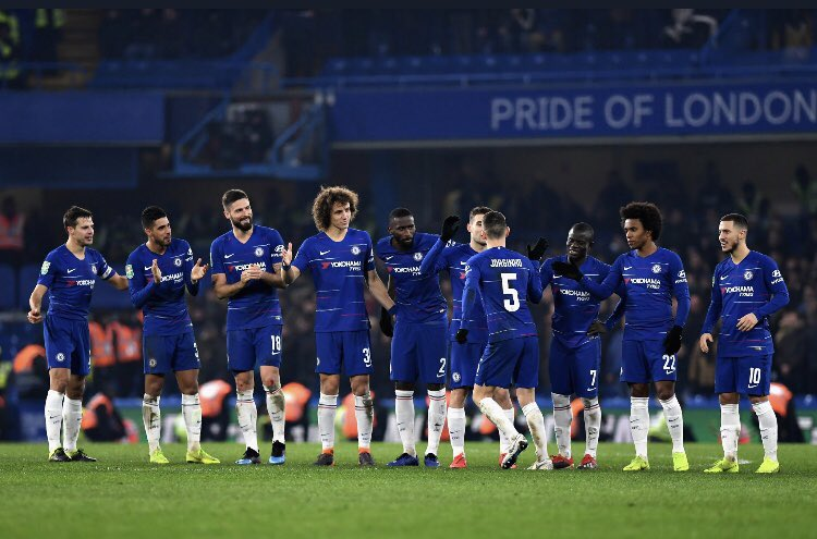 Another @Carabao_Cup final to play with my teammates and one more step before celebrating with our @ChelseaFC fans.