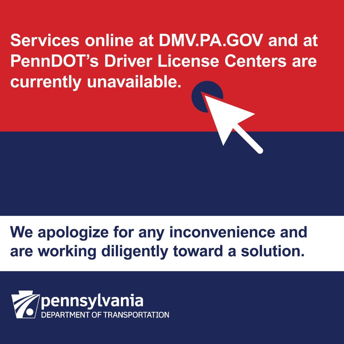 penn dot drivers license centers