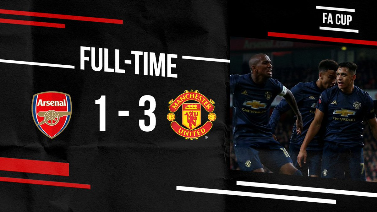 #MUFC ➡️ 🎩  Into the hat for the fifth round of the #EmiratesFACup! 😍