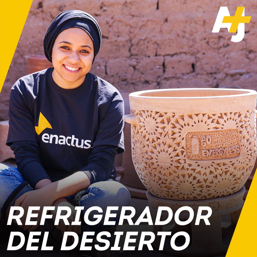 Arcilla, agua, arena y creatividad: este el refrigerador que funciona sin electricidad.
