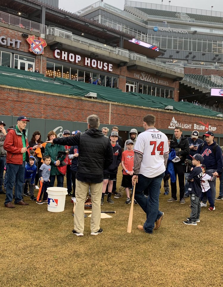 Thank you @Braves fans for a great time at #Chopfest last weekend!