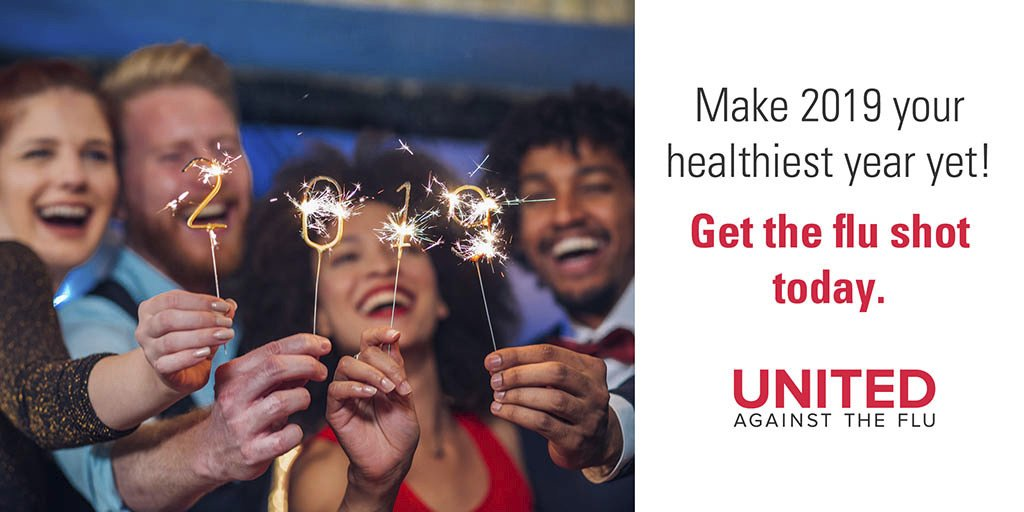 Make your health a priority this year! Get the #flu shot today and protect yourself and those around you. http://ow.ly/LPLF30neGBW #UnitedAgainstFlu