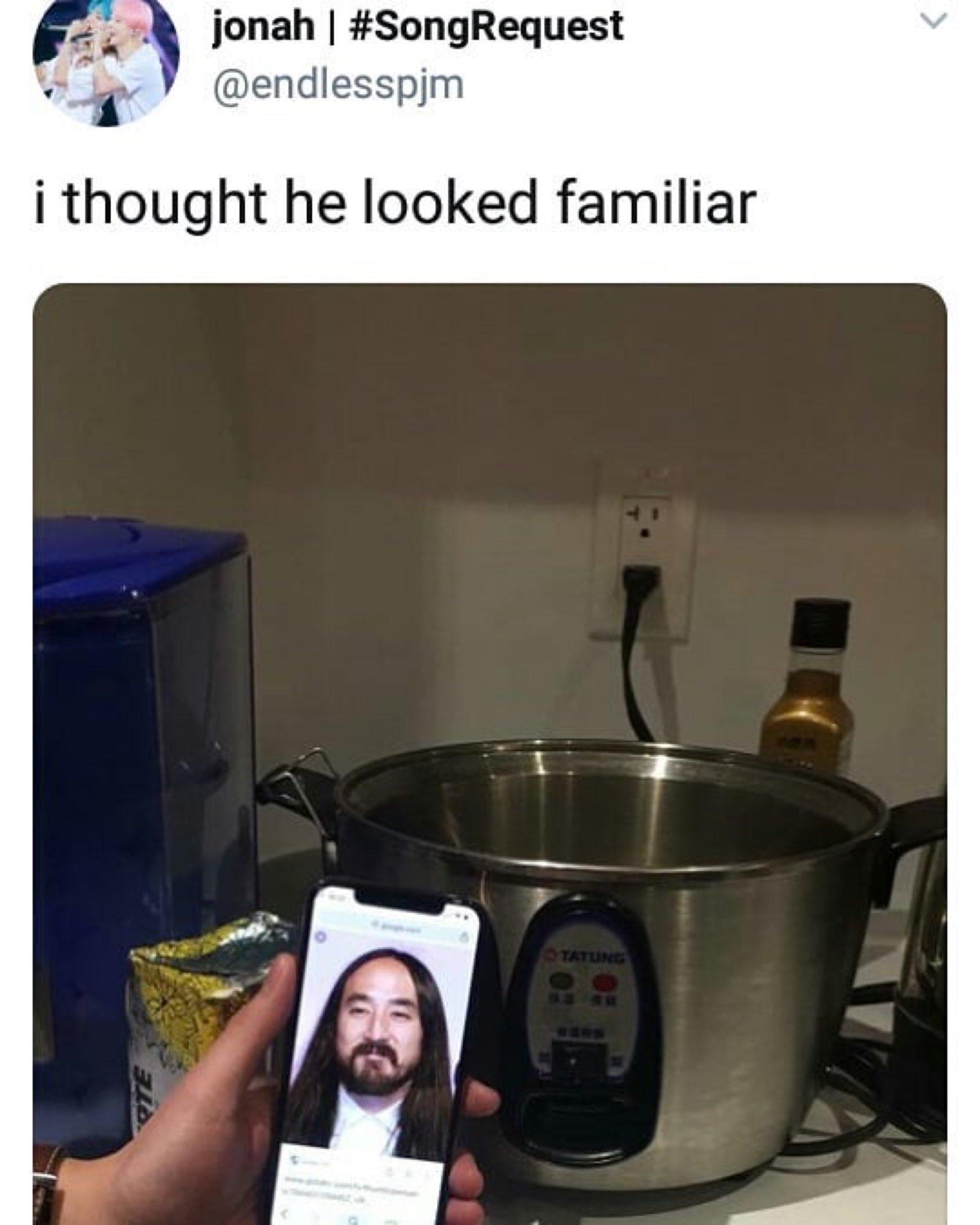 u made it when u look like a rice cooker https://t.co/yOztsDBqnG