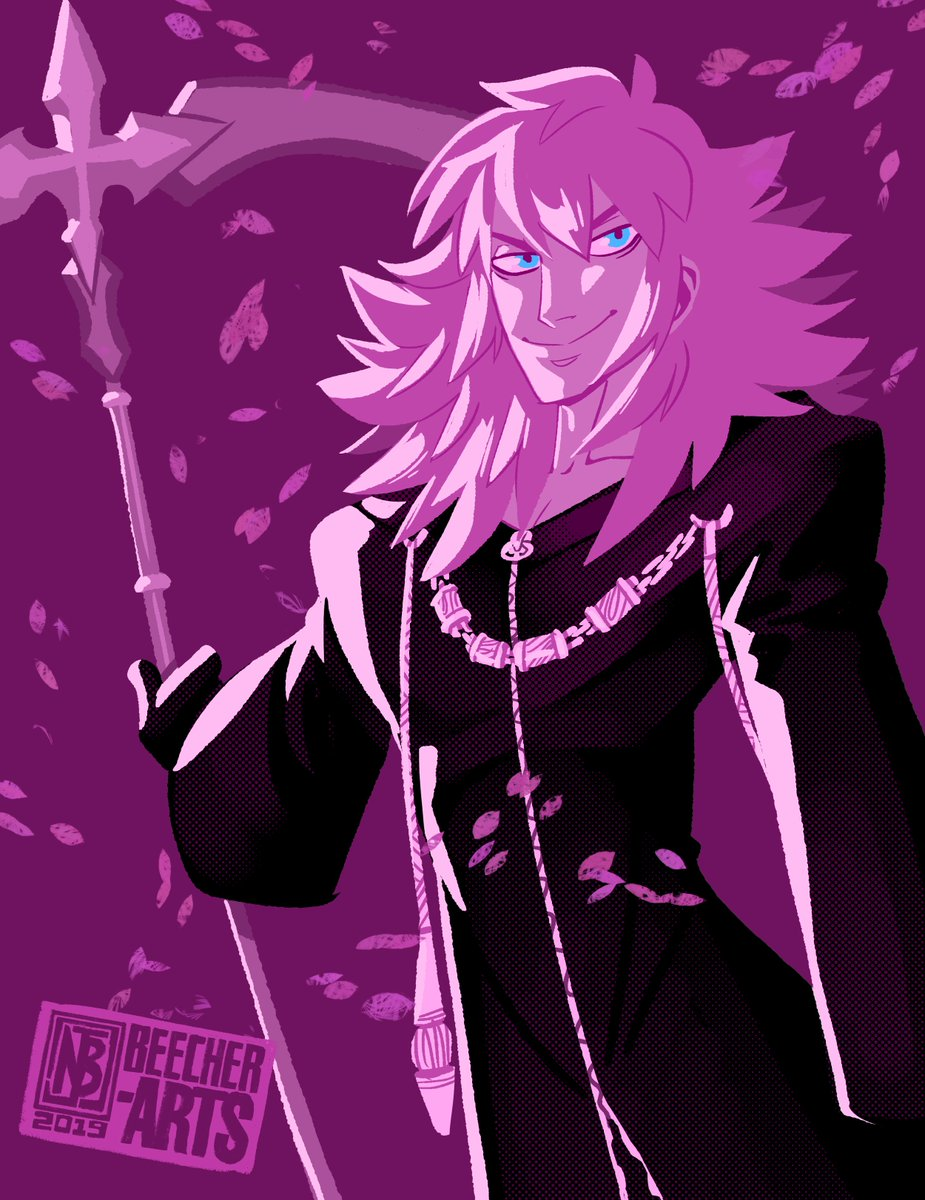 4 Days Until Kingdom Hearts 3 Kh3 Countdown Day Eleven Marluxia