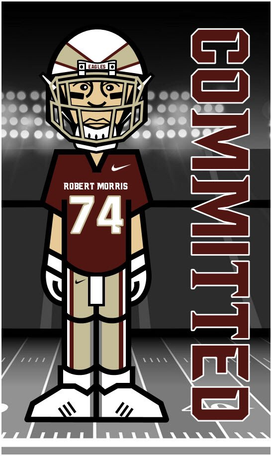 I'm proud to announce my commitment to Robert Morris University🦅 Thank you to everyone that helped me through this recruiting process. @FBCoachBrill @wthsfb
