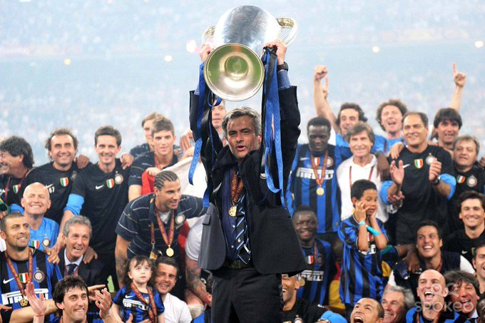 Happy Birthday Jose Mourinho!  With you as a manager, I witnessed Inter taking over the world!