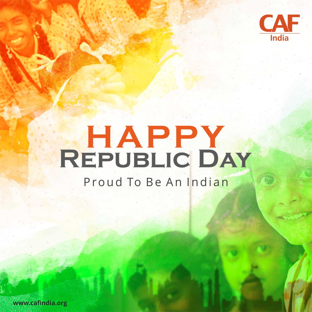 CAF India wishes all a Happy Republic Day. #HappyRepublicDay2019 #RepublicDayWishes #ProudtobeIndia #70thRepublicDay #republicdayindia