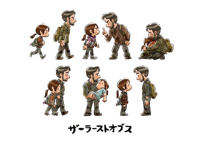 Artista da Pixar faz ilustração emocionante de The Last of Us 1