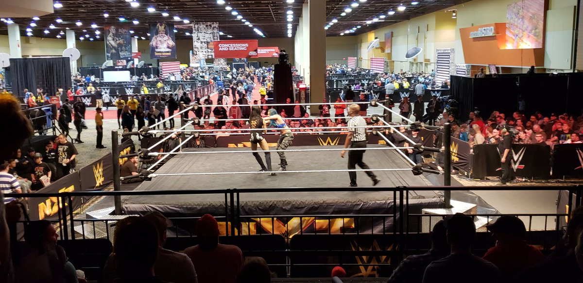 *SPOILERS* WWE NXT UK TV Tapings And Dark Matches From Royal Rumble Axxess Night One
