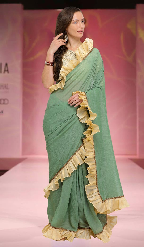 1823e417d5 Shop for casual printed sarees online, choose from latest stylish and  designer casual plain saree