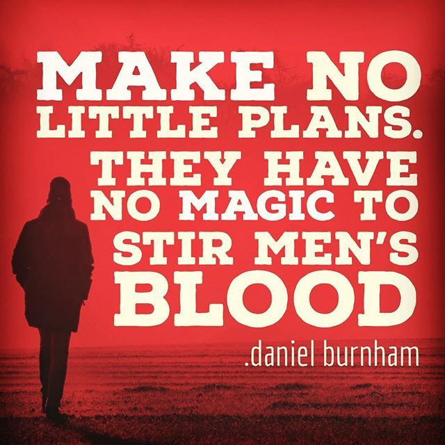 Stir things up. Make BIG plans.  http://www.thelifeagents.us #todaymatters #inspiration #motivation #excellence #pin #plans http://bit.ly/2S3xMHT