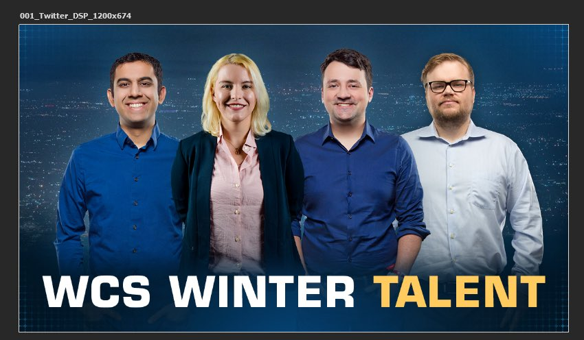 2019 WCS Winter casters