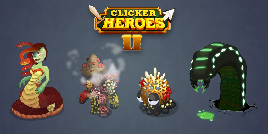 Clicker Heroes on Twitter: