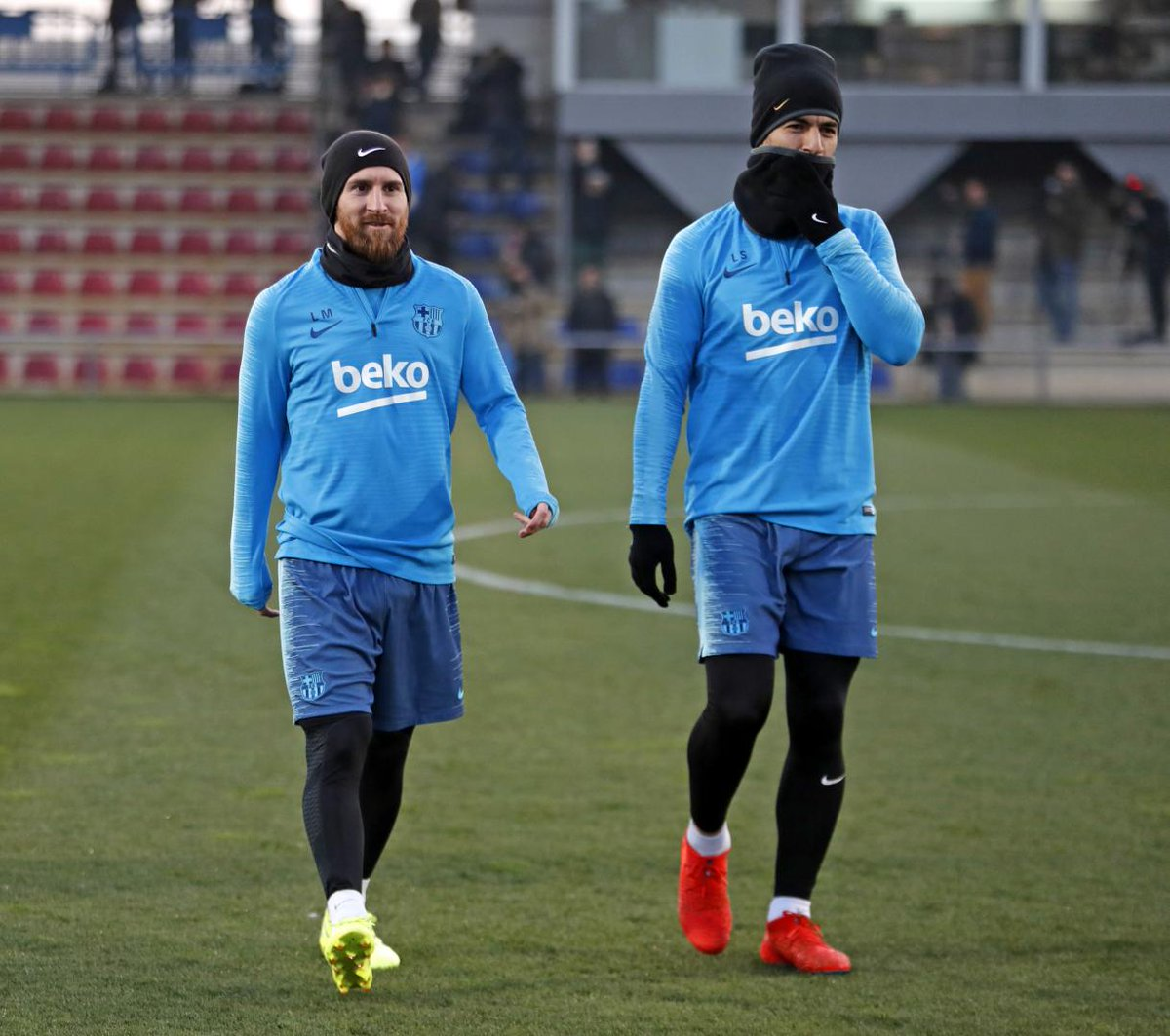 💪⚽ Getting ready for @Athletic_en  🔵🔴 #ForçaBarça