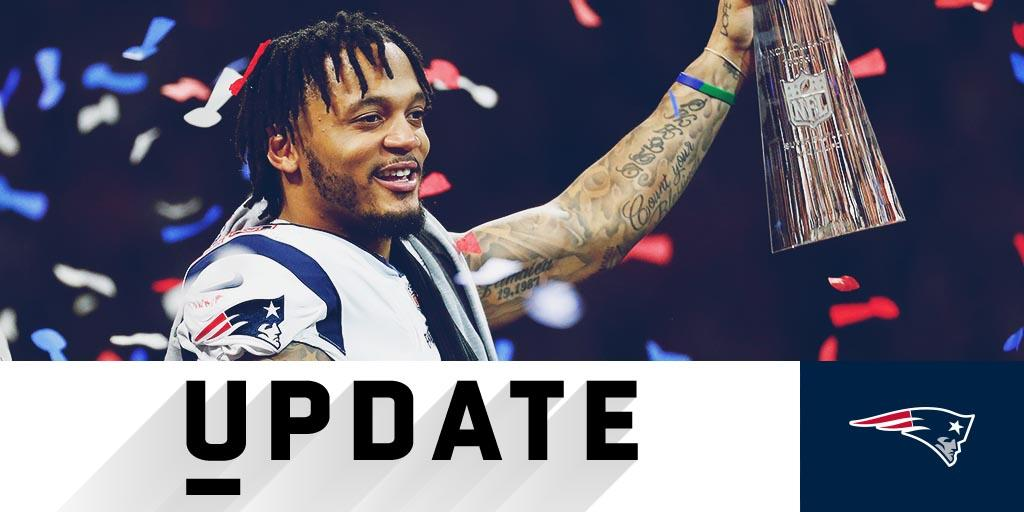 .@Patriots safety Patrick Chung undergoes surgery on broken forearm from Super Bowl: https://t.co/5QAAJhIhmY https://t.co/EMq5ifTVXq