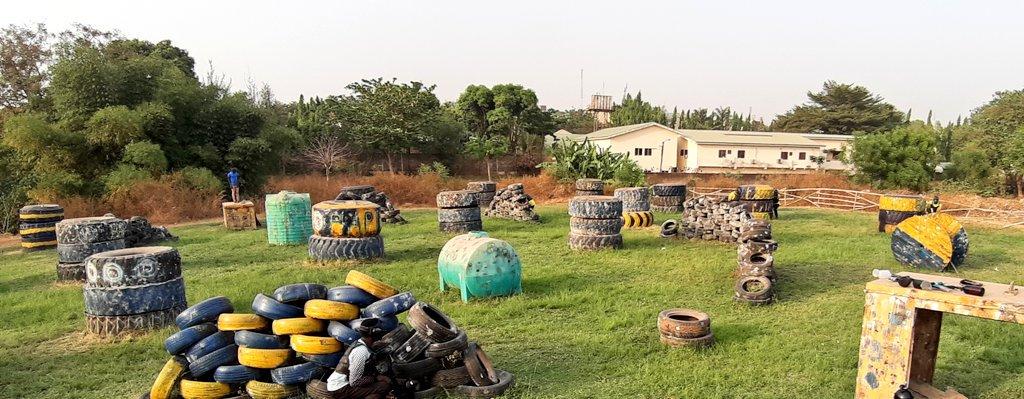 Taking cover  #WeAreRapid #paintball #Abuja #Fun #action #battlegames #runhideshoot #adventure #extremesport #Weekend #squad #noretreatnosurrender #adrenalin #team #AbujaTwitterCommunity