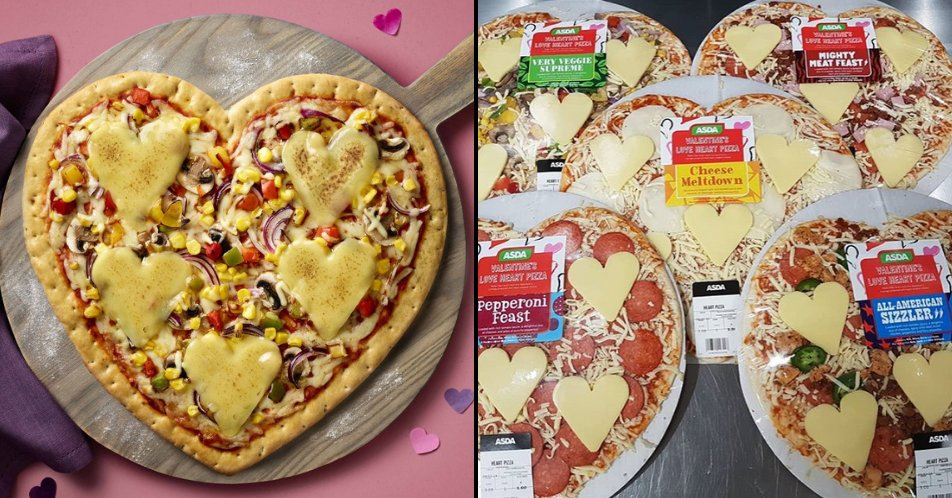 Ladbible On Twitter Asda Is Selling Heart Shaped Pizzas