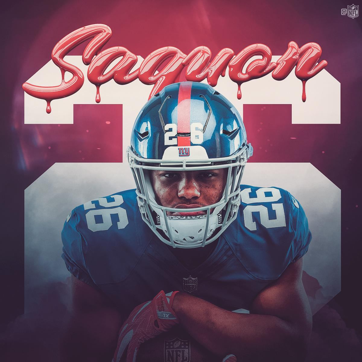HAPPY BIRTHDAY to Offensive Rookie of the Year @saquon Barkley! 🗽🏈