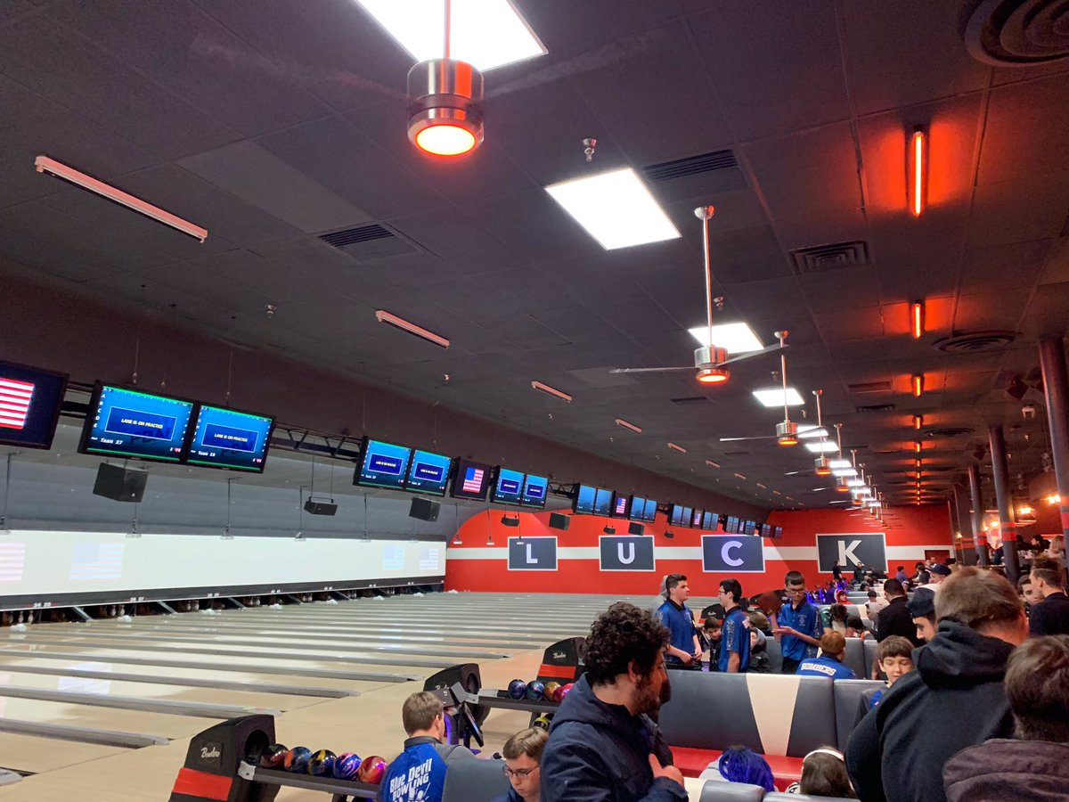 Good luck to our boys bowling team at sectionals today! 🎳