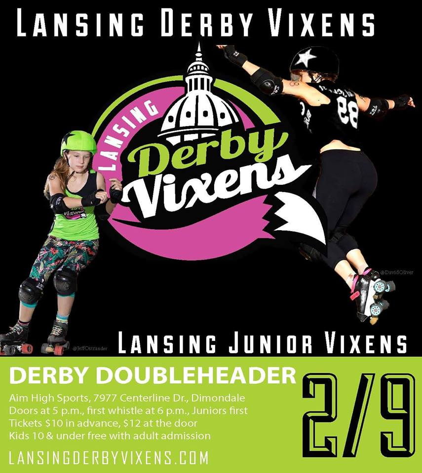 We are ready to hang out with the @DerbyVixens for their home opener. Are you ready to rock and roll!