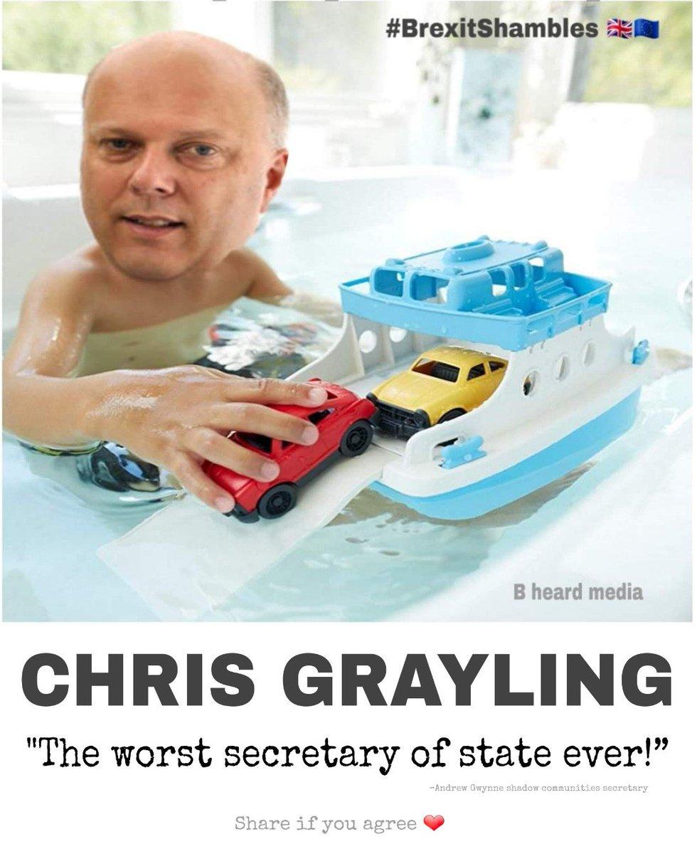 bheardmedia's photo on Chris Grayling