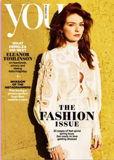 #Poldark star #EleanorTomlinson looks stunning on the cover of UK You Magazine. Order your copy worldwide here <<< http://bit.ly/2TFfHxl