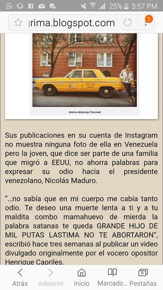 Maduro: Si algo me pasa, ¡retomen el poder y hagan una revolución más radical! - Página 7 Dy-UTpsXgAEJj7i