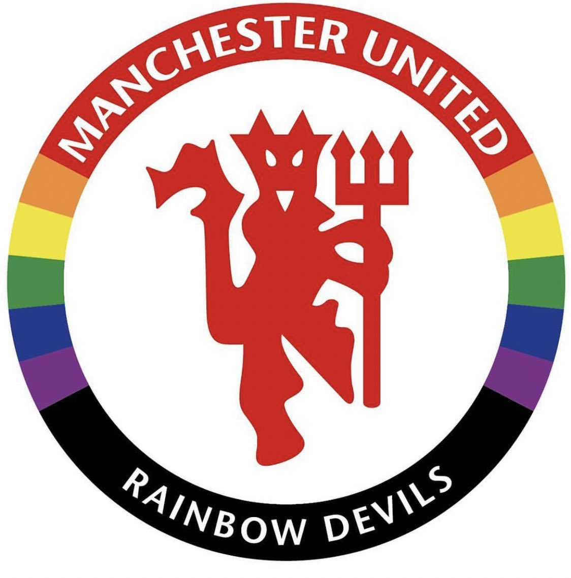 Amazing day! Thank you @ManUtd and everyone else for coming @stonewalluk @Aon_plc @LGBTfdn @villagemancfc @The_FSF #allredallequal