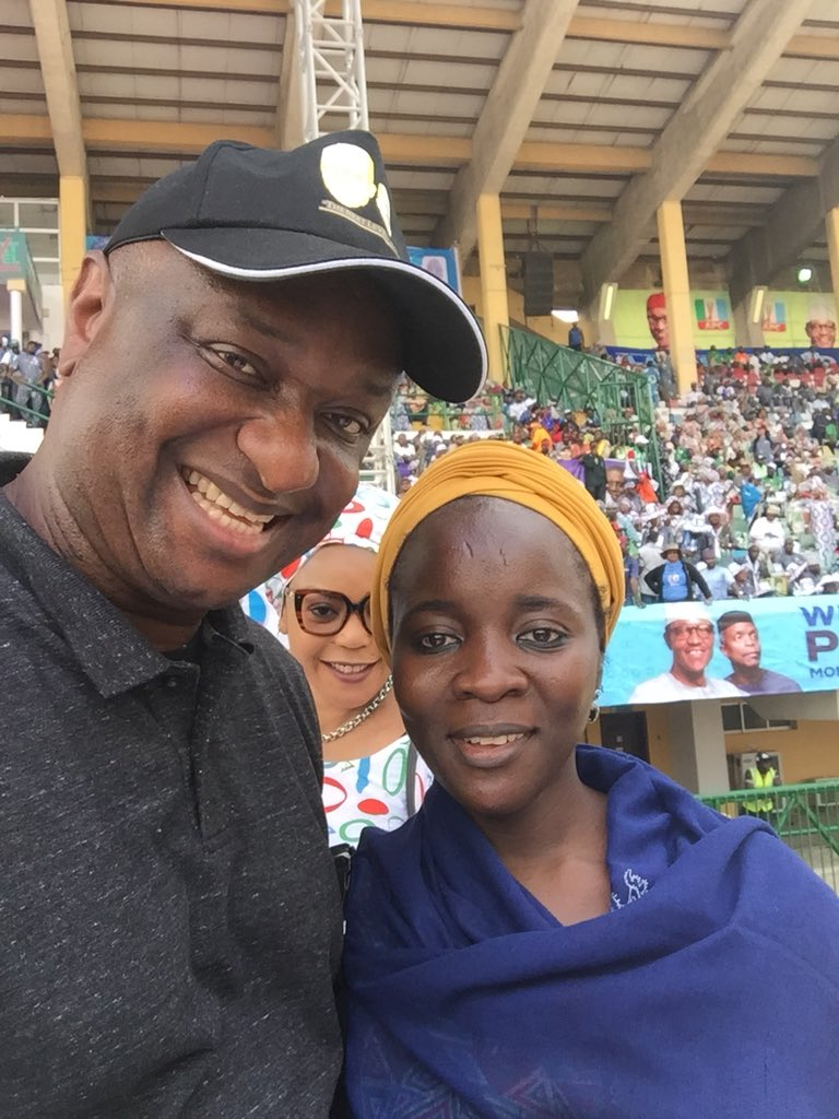 Dy bx22WkAAxIi9 - She's for PMB!!! Festus Keyamo says as he strikes a pose with Buba Galadima's daughter