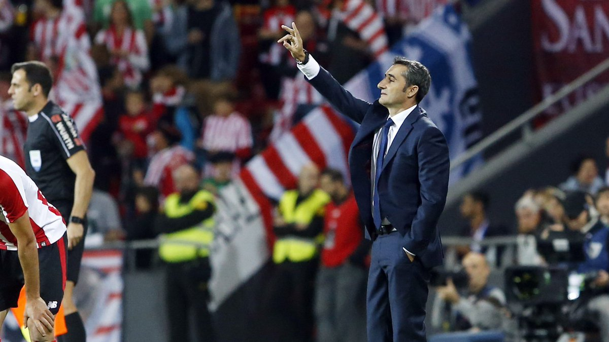"""🔊 Valverde: """"It will be a beautiful game, but visiting San Mamés is always complicated, it is one of the most difficult games of the season"""" #AthleticBarça"""