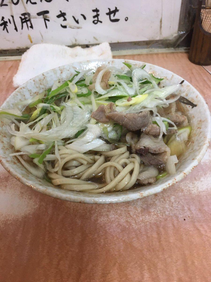 夜中の肉そばは美味すぎる! #南天 #椎名町駅 #肉そば #ネギ多め