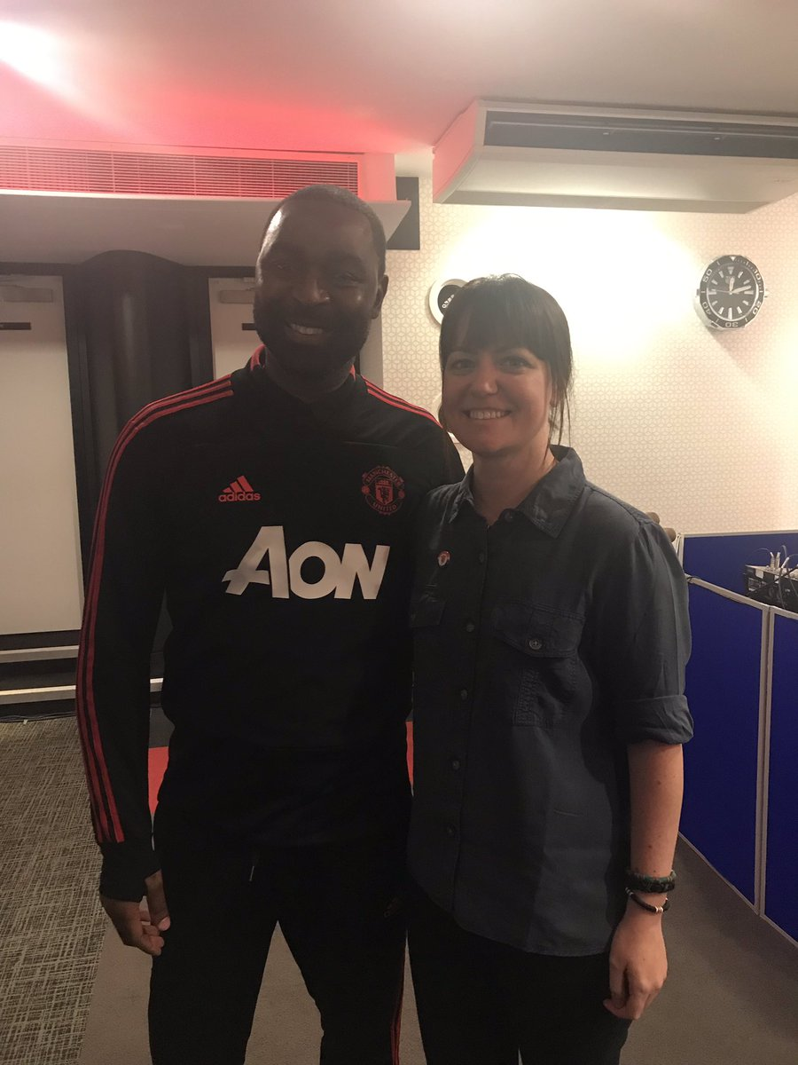 Proud and privileged to have attended the launch of #mufc's LGBT+ Supporters Club @RainbowDevils today. Such a great atmosphere and topped off with a @ManUtd win! Thanks for the photo @vancole9 😃 I love my club #AllRedAllEqual 🏳️🌈🔴⚫️⚪️