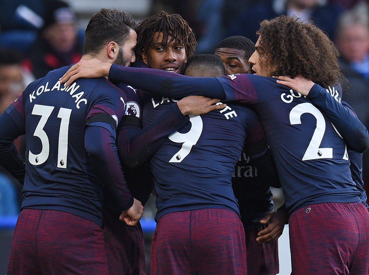 REPORT: Alex Iwobi and Alexandre Lacazette fire Arsenal to rare away win https://ind.pn/2MZ3Szf  #HUDARS