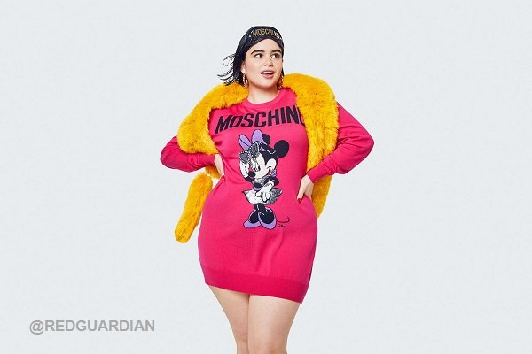 a3c77029878 H&M x Moschino's Collection Doesn't Carry Plus Sizes Despite Curvy Model In  Ads H&M