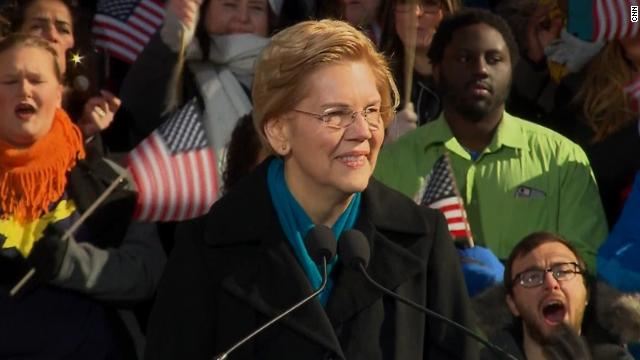 Democratic Sen. Elizabeth Warren has officially launched her 2020 presidential bid https://t.co/XlKlr1755q https://t.co/KhlpdsFBUJ