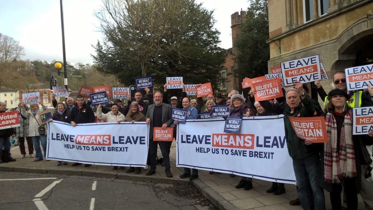 Leave Means Leave on Twitter:
