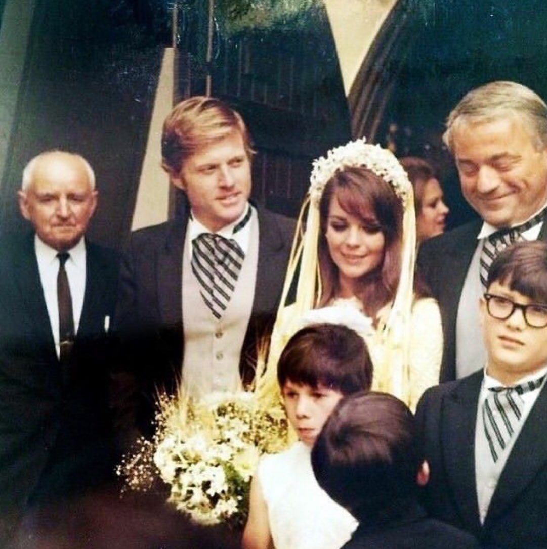 Channing Thomson On Twitter Robert Redford At Natalie Wood S Wedding To British Producer Richard Gregson 1969 Via Her Daughter On Ig