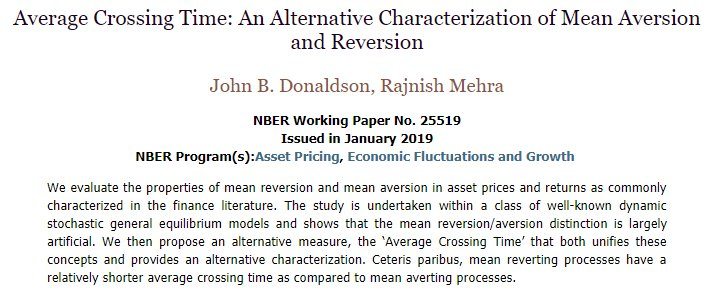 NBER on Twitter:
