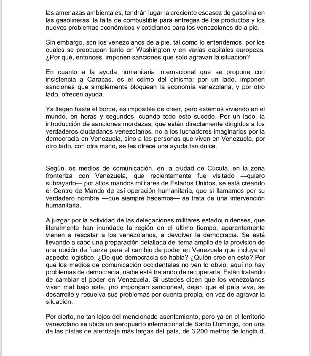 Maduro: Si algo me pasa, ¡retomen el poder y hagan una revolución más radical! - Página 7 Dy002IgWoAARw3L