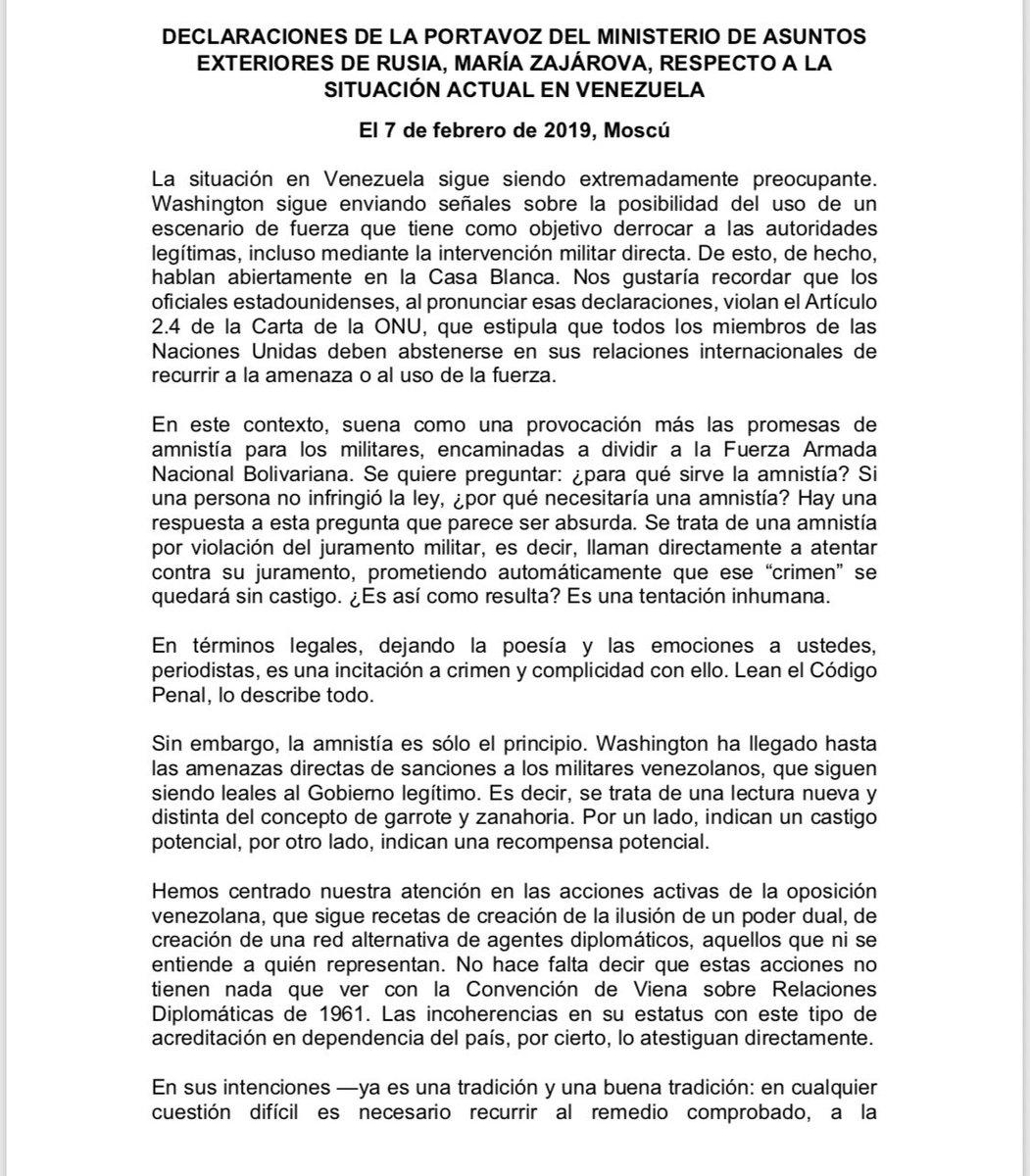Maduro: Si algo me pasa, ¡retomen el poder y hagan una revolución más radical! - Página 7 Dy002IiXgAYr26o