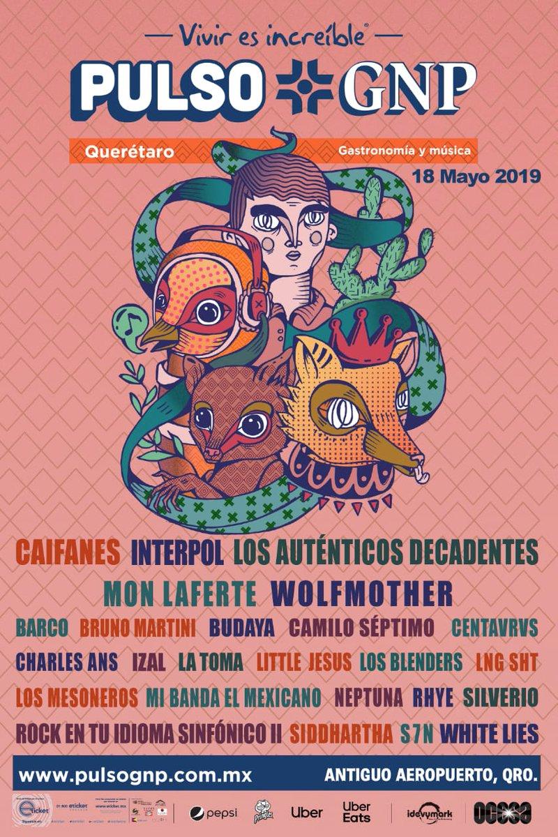 Pulso GNP | Antiguo Aeropuerto de Querétaro | 18 de mayo