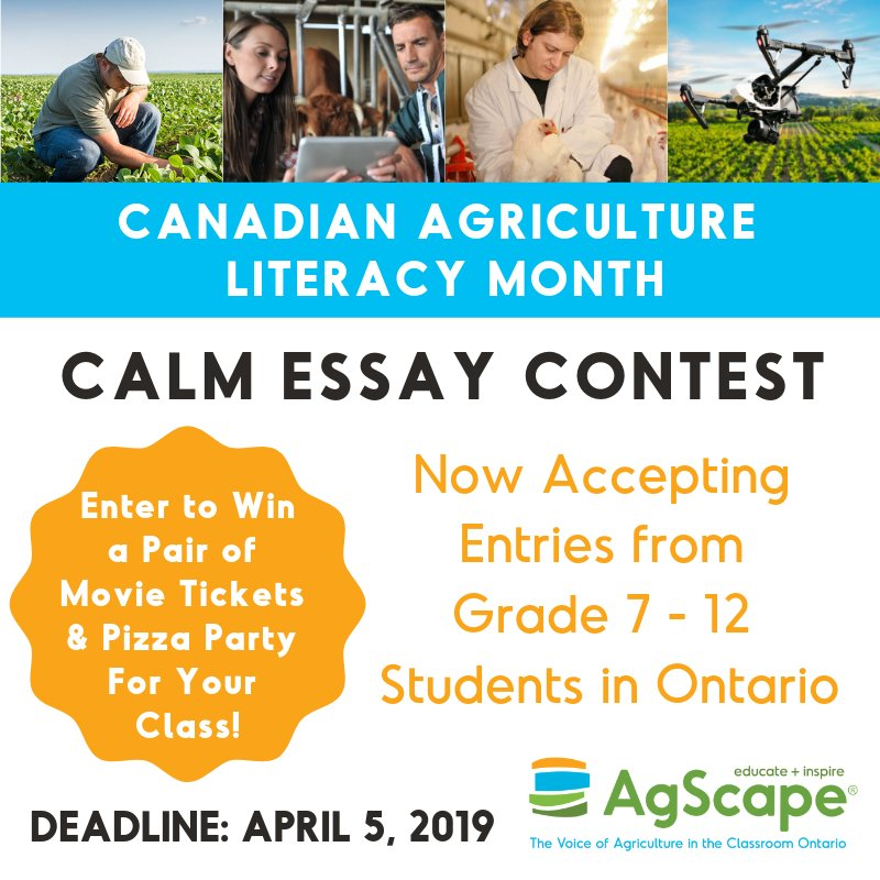 canadian essay contests 2010