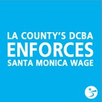 Image for the Tweet beginning: Wage complaint?  Contact @LACountyDCBA