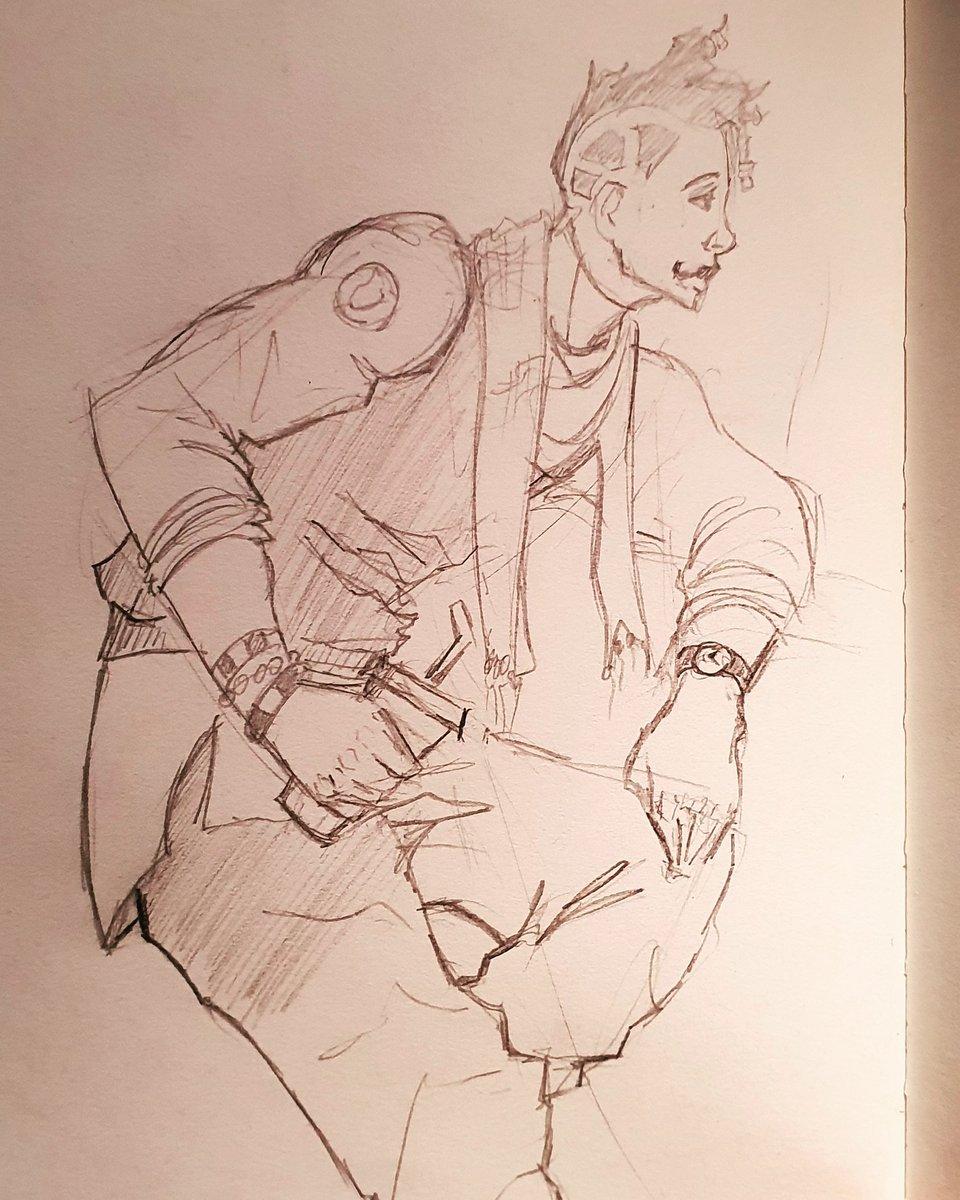 Keeping it super loose.  #artist #art #artwork #illustration #drawing #doodle #pencilart #sketch #sketchbook #artjournal #dailyart #characterdesign