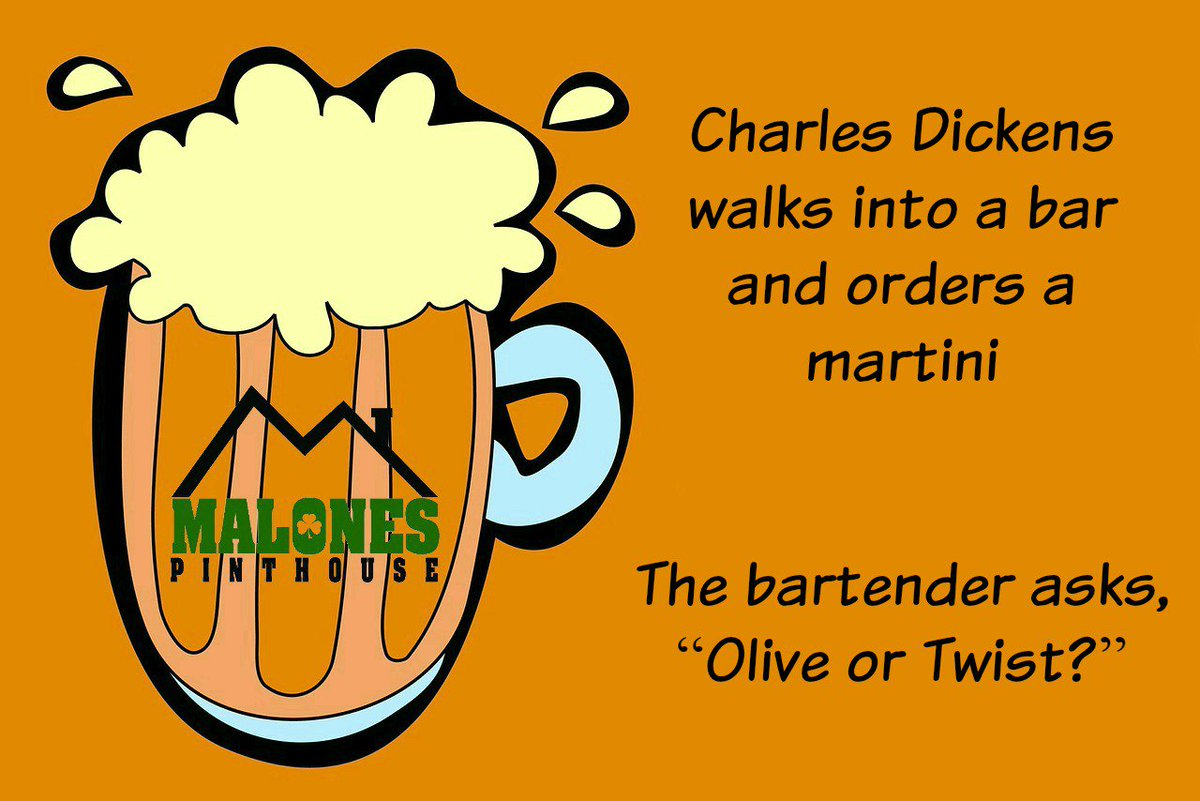 Malone's Pint House's photo on #Dickens