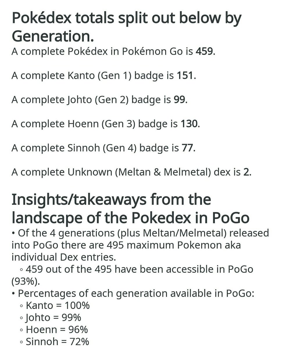 Pokemon Gen 4 Pokedex