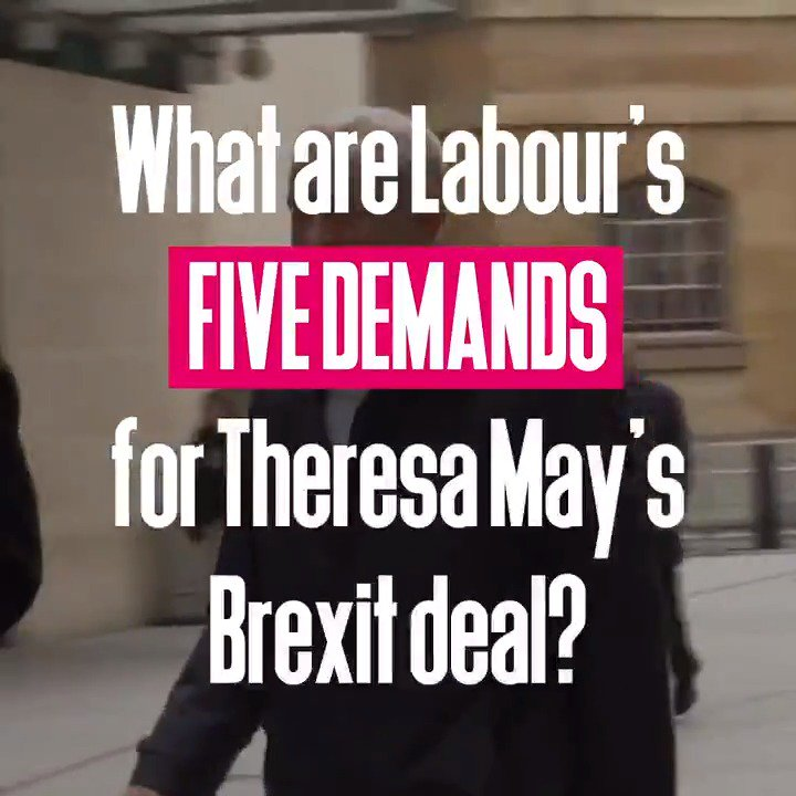 We need to break the Brexit deadlock. Will @theresa_may listen to our five demands? https://t.co/o5SuGI64zD